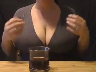 Damn I love this woman's full see-through bosom and I'd love to suck them dry