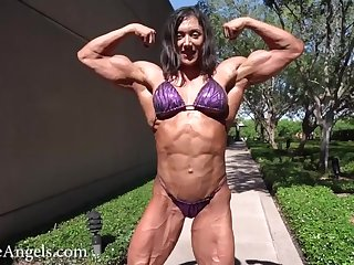 French Muscle God in Bikini 3