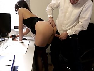 Absolute passion with the maid who loves cock more than anything