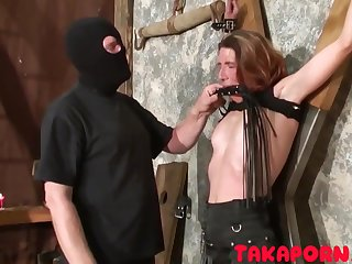 French Bdsm - Training The Mom Slave good-luck piece porn video