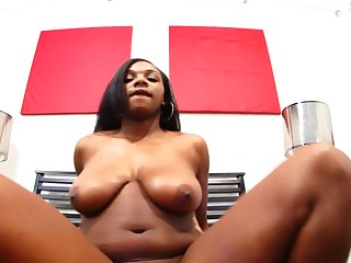 Ebony Taylor riding monster cock hardcore lovely