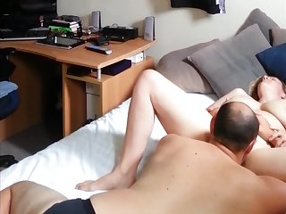 pussy licking and some big Hawkshaw fucking