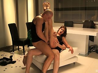 Angelica Heart gets fucked by hard friend'sshaft while she moans