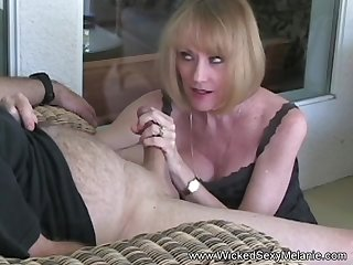 Granny Gives Blowjob At the The Big Office Cocktail Party