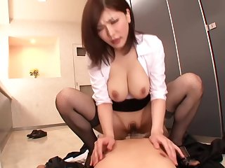 Fucking The Asian Office Slut