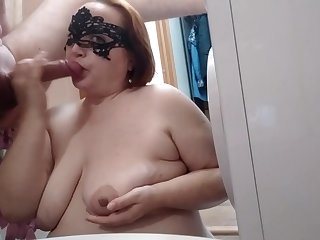 Old mighty heels Redhead mature Nourisher screaming ep. 3 Bathroom, sperm taking