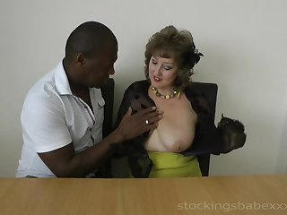 Pizzazz old-fashioned lady unending porn video